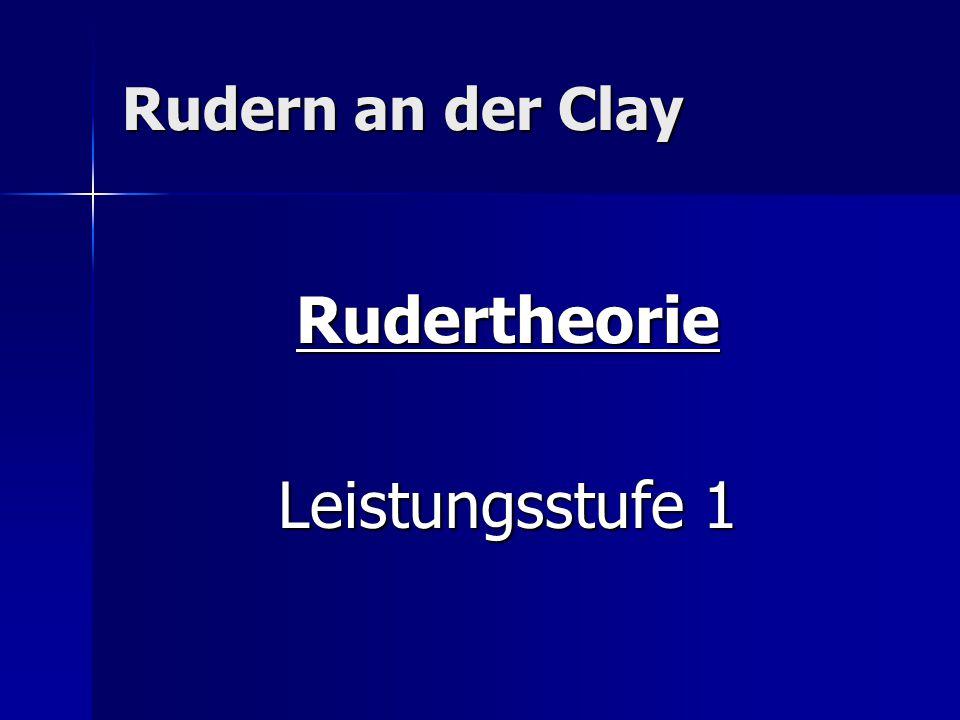 Rudertheorie LS 1 Knoten
