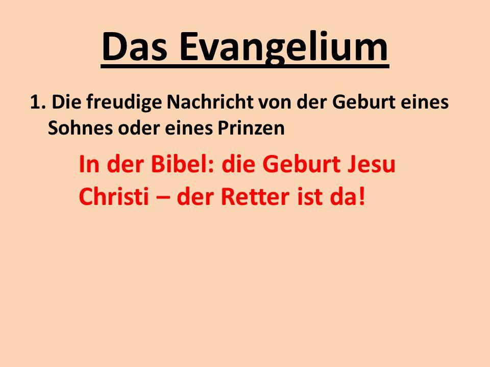 Das Evangelium 2.