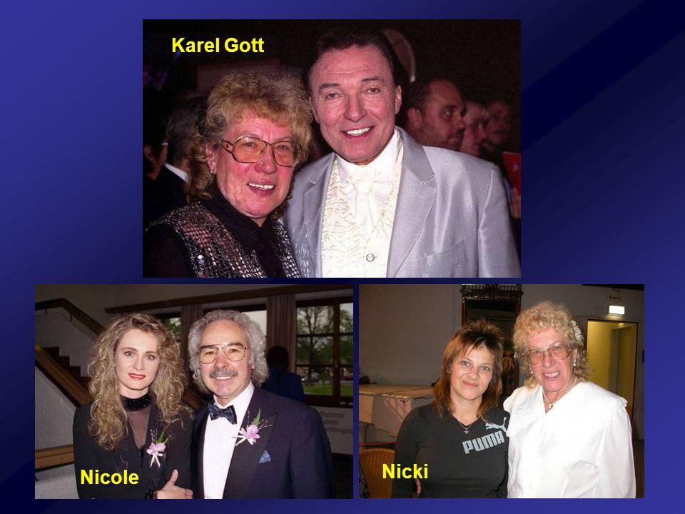 Karel Gott Nicki Nicole