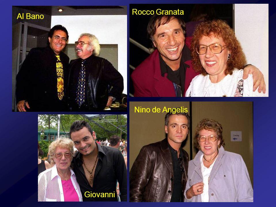 Al Bano Rocco Granata Nino de Angelis Giovanni