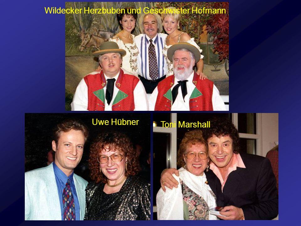 Uwe Hübner Toni Marshall Wildecker Herzbuben und Geschwister Hofmann