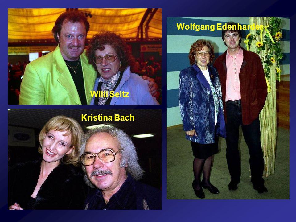 Kristina Bach Willi Seitz Wolfgang Edenharder