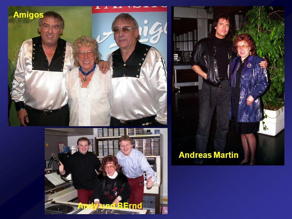 Andy und BErnd Andreas Martin Amigos