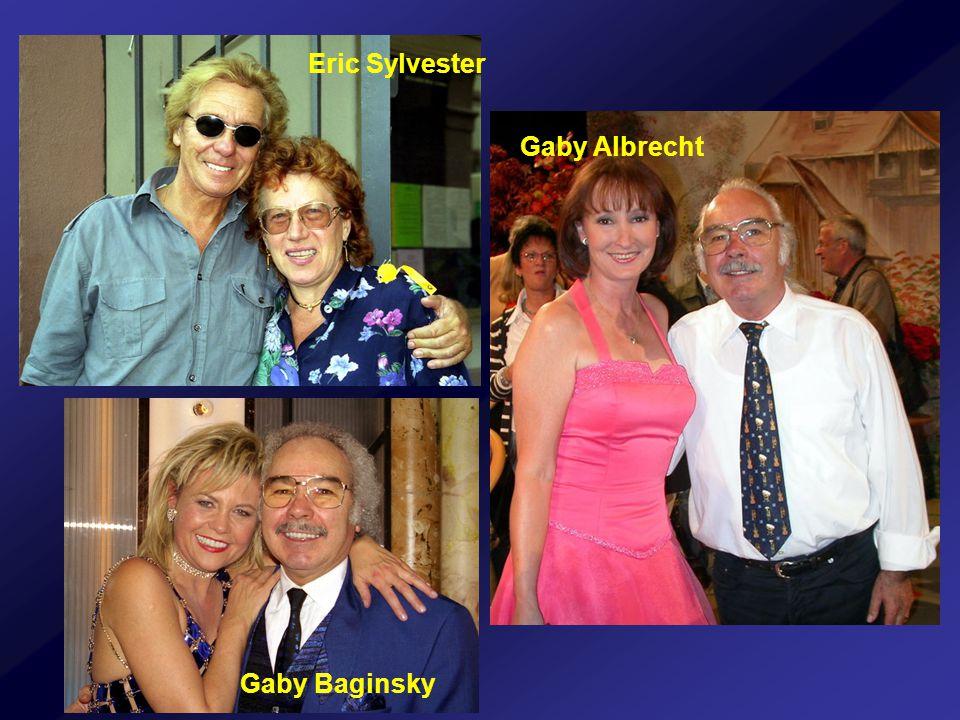 Gaby Baginsky Gaby Albrecht Eric Sylvester
