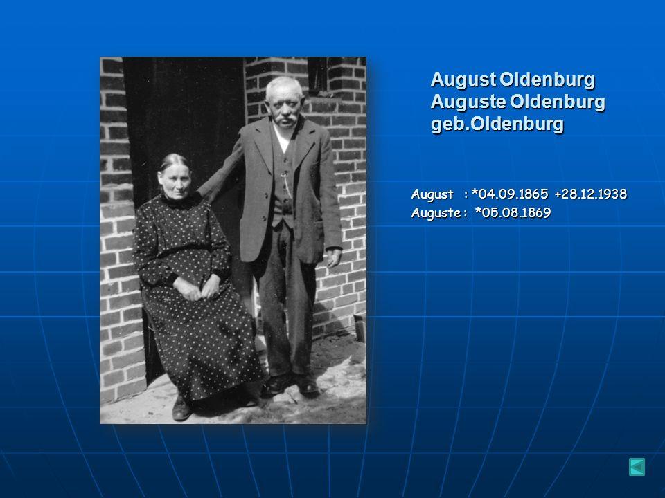 Max und Maria Krüger geb. Oldenburg Maria : *24.08.1900 +16.03.1973 Max : *15.04.1900 +12.11.1955 Maria ist in Deutsch Puddiger/Schlawe geboren, heira
