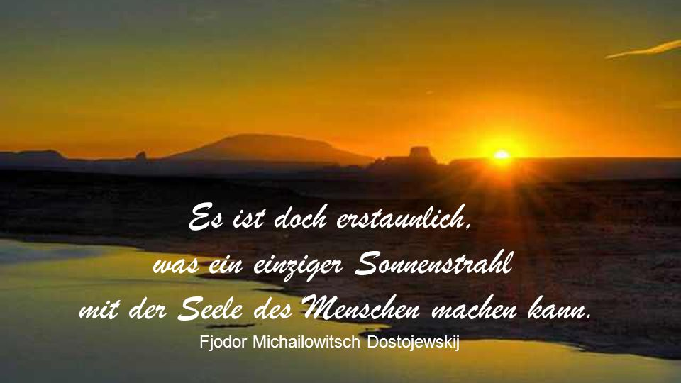 Die Sonne ist nur ein Schatten Gottes. Michelangelo
