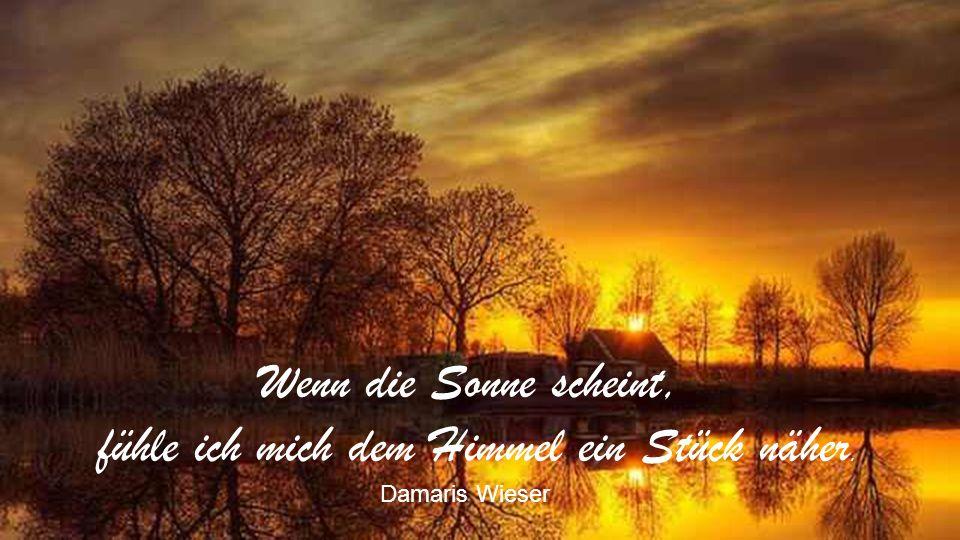 Im Abendland geht die Sonne unter; aber am nächsten Morgen wieder auf. Walter Ludin
