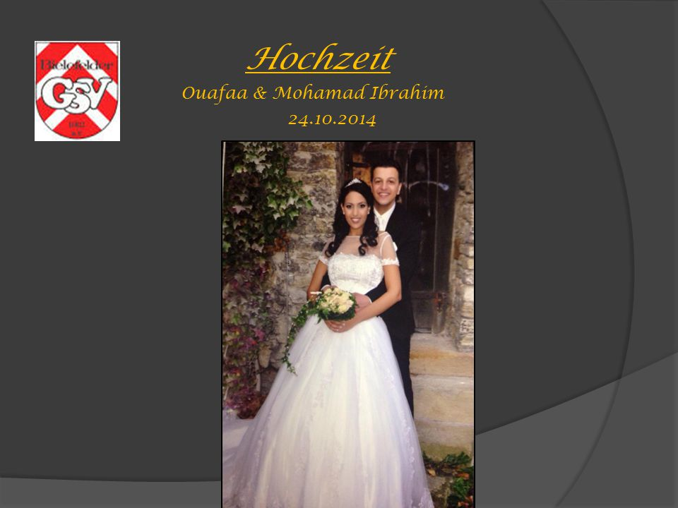 Hochzeit Ouafaa & Mohamad Ibrahim 24.10.2014