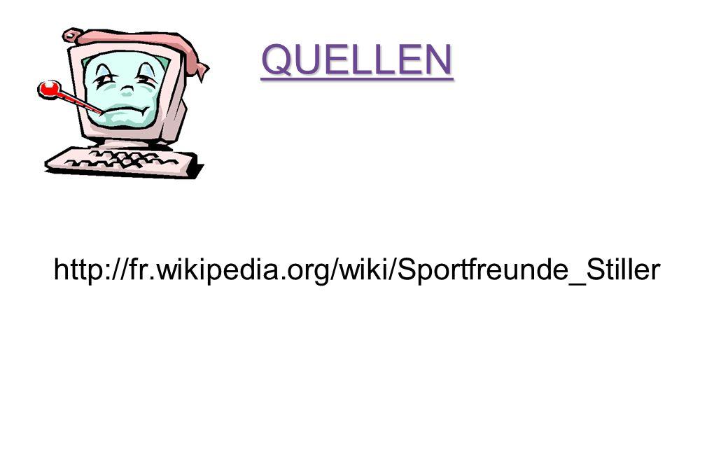 QUELLEN http://fr.wikipedia.org/wiki/Sportfreunde_Stiller
