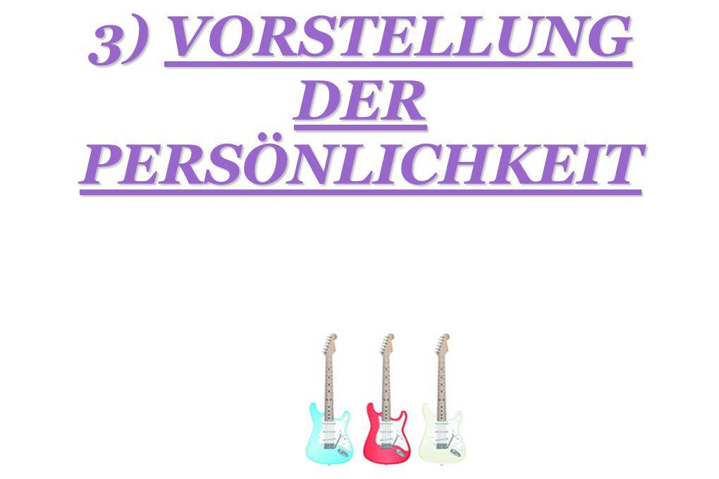 a) FLORIAN WEBER Das ist Florian Weber. Er ist Sänger und Schlagzeuger. Sein Beiname ist « Flo »