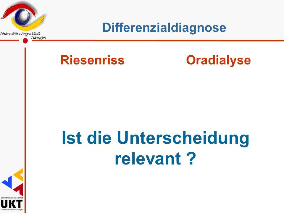 Kontroversen l Gas/Öl l Plombe/Cerclage l Kryo/Endolaser l Lentektomie l Partnerauge Type of Retinal Break Initial Examination End of Follow- up No.