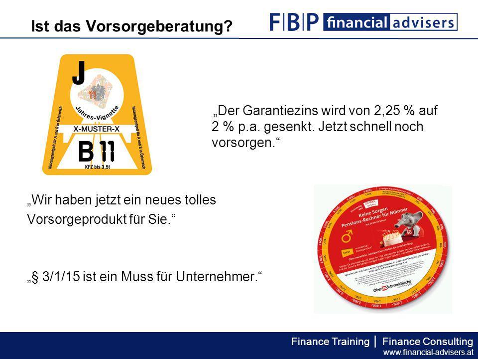 """Finance Training │ Finance Consulting www.financial-advisers.at Das EDV-Tool """"Finanzanalyse ermöglicht eine korrekte Erfassung der Daten des Pensionskontoauszugs."""