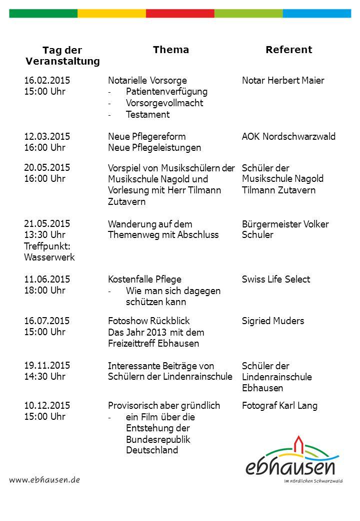 Wanderverein Rotfelden e.V.Der Wanderverein Rotfelden e.V.