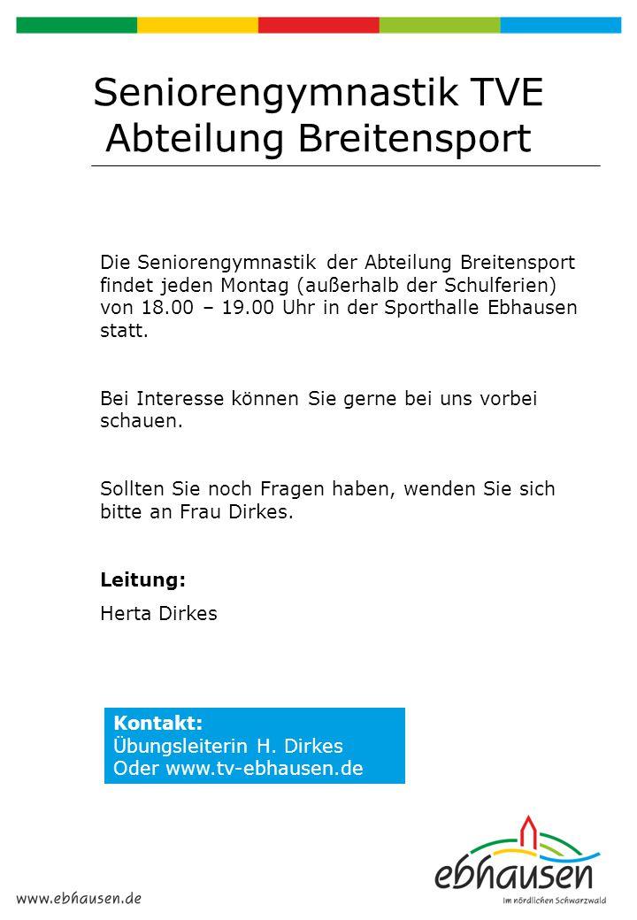Schwarzwaldverein Ortsgruppe Ebhausen e.V.