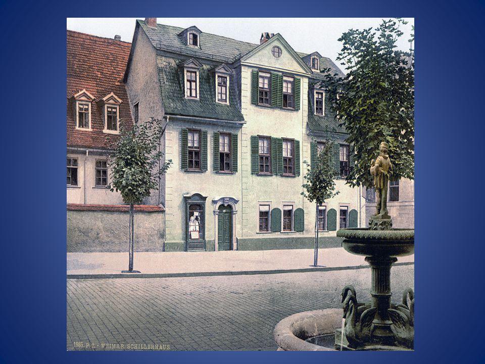 Schiller in Weimar