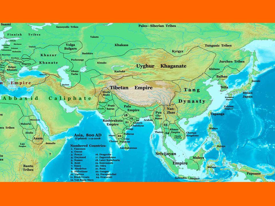Missionierung aus Indien + Sri Lanka 1./3.Jhd. Pyu-Stadtstaaten 4./5.