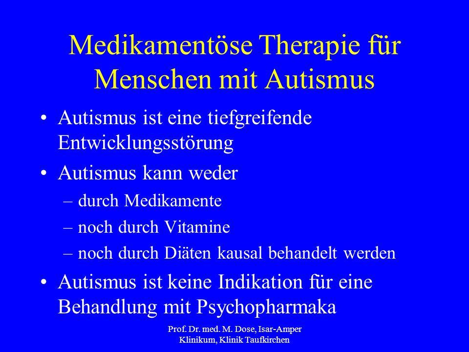 Prof.Dr. med. M. Dose, Isar-Amper Klinikum, Klinik Taufkirchen Danke für's zuhören Prof.