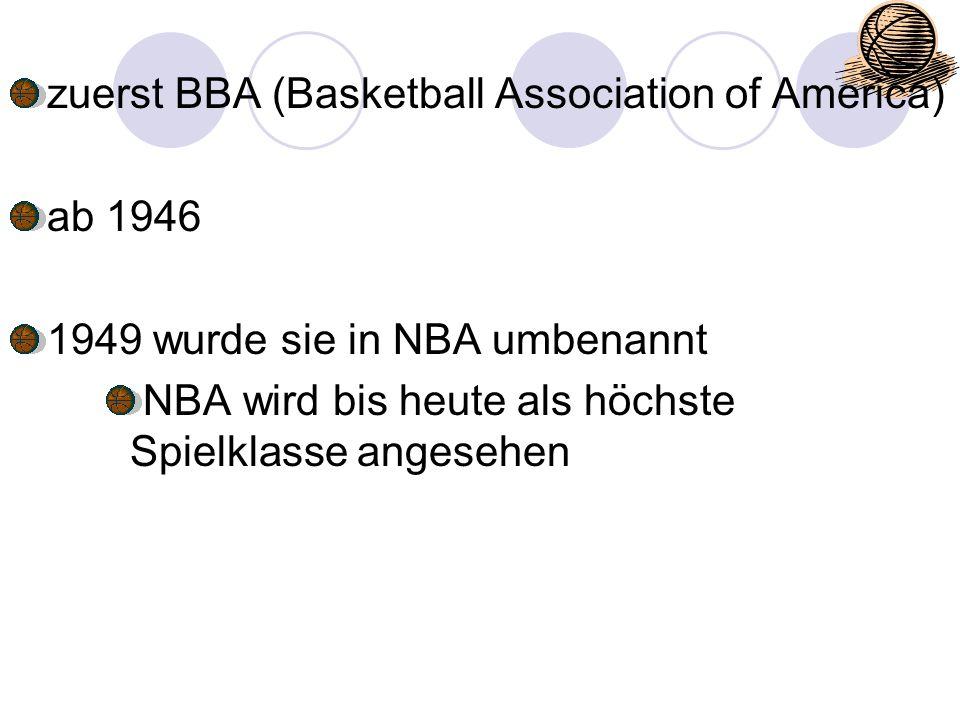 """Positionen in Basketball Pointguard (PG): Ist der Aufbauspieler der den Ball ins Vorfeld bringt und den Ball """"verteilt Größe in der NBA ca."""