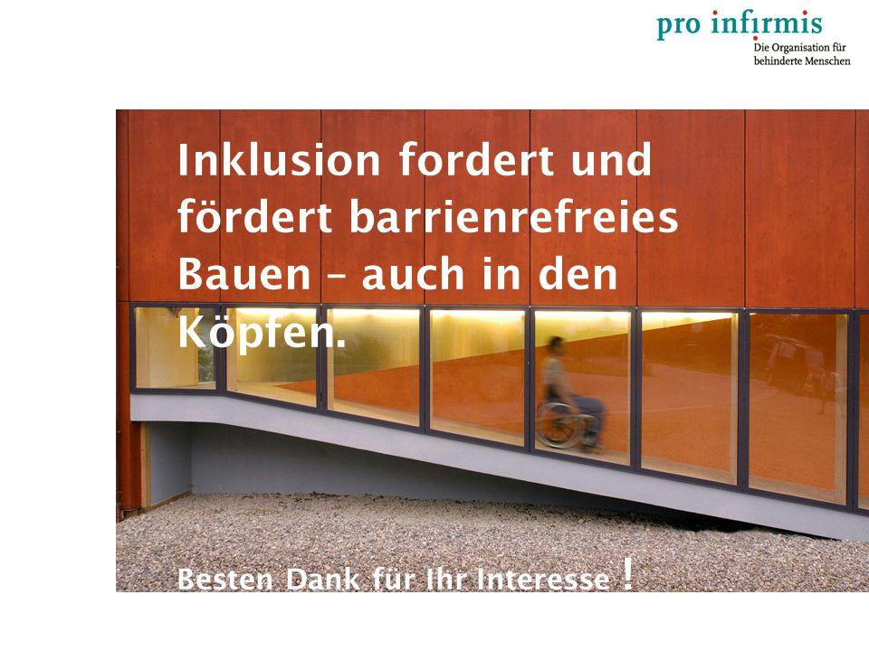 Inklusion fordert und fördert barrienrefreies Bauen – auch in den Köpfen.