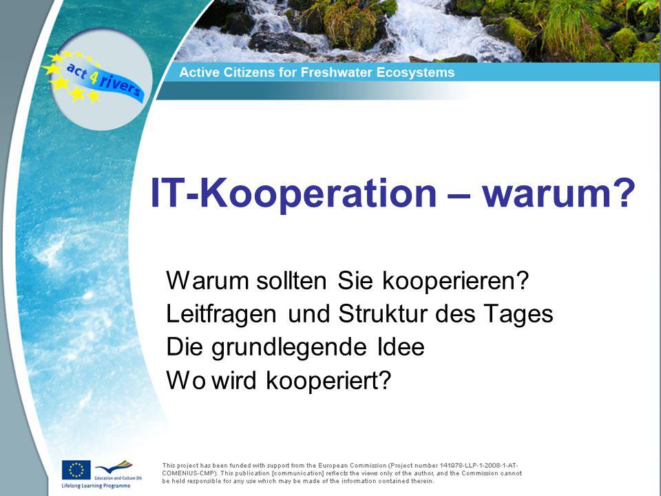 IT-Kooperation – warum. Warum sollten Sie kooperieren.
