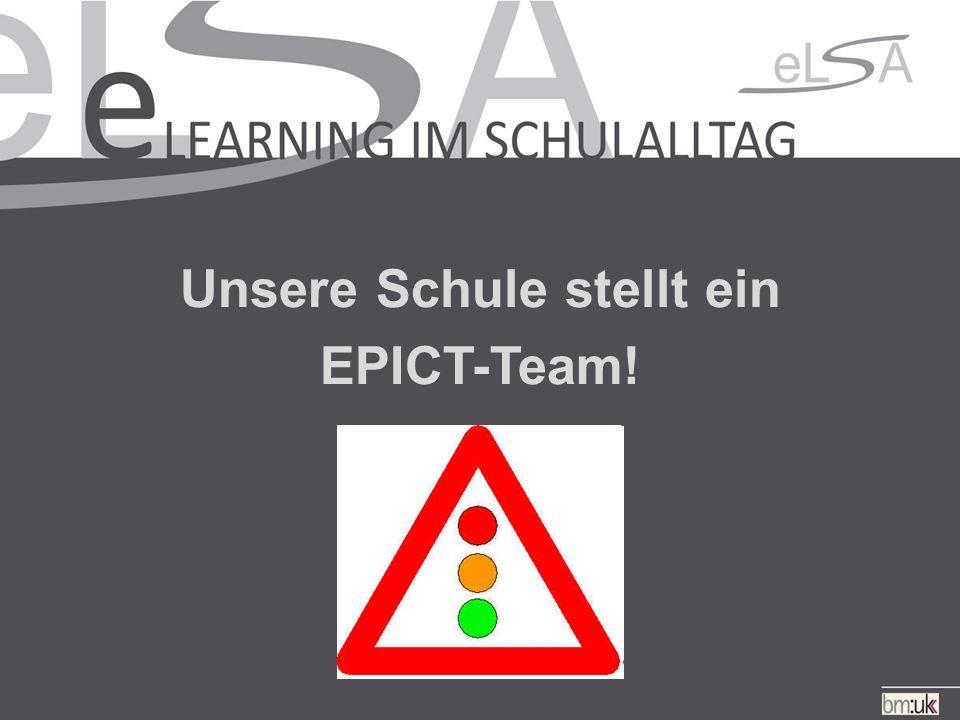 Unsere Schule stellt ein EPICT-Team!