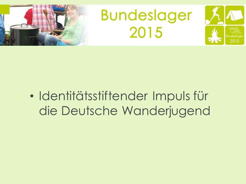 Identitätsstiftender Impuls für die Deutsche Wanderjugend