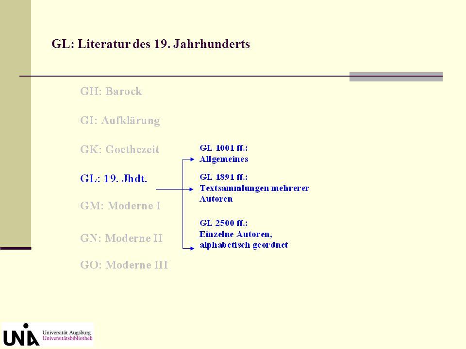 GT - GY: Andere germanische Sprachen und Literaturen (in unserer Bibliothek nur schwach vertreten)