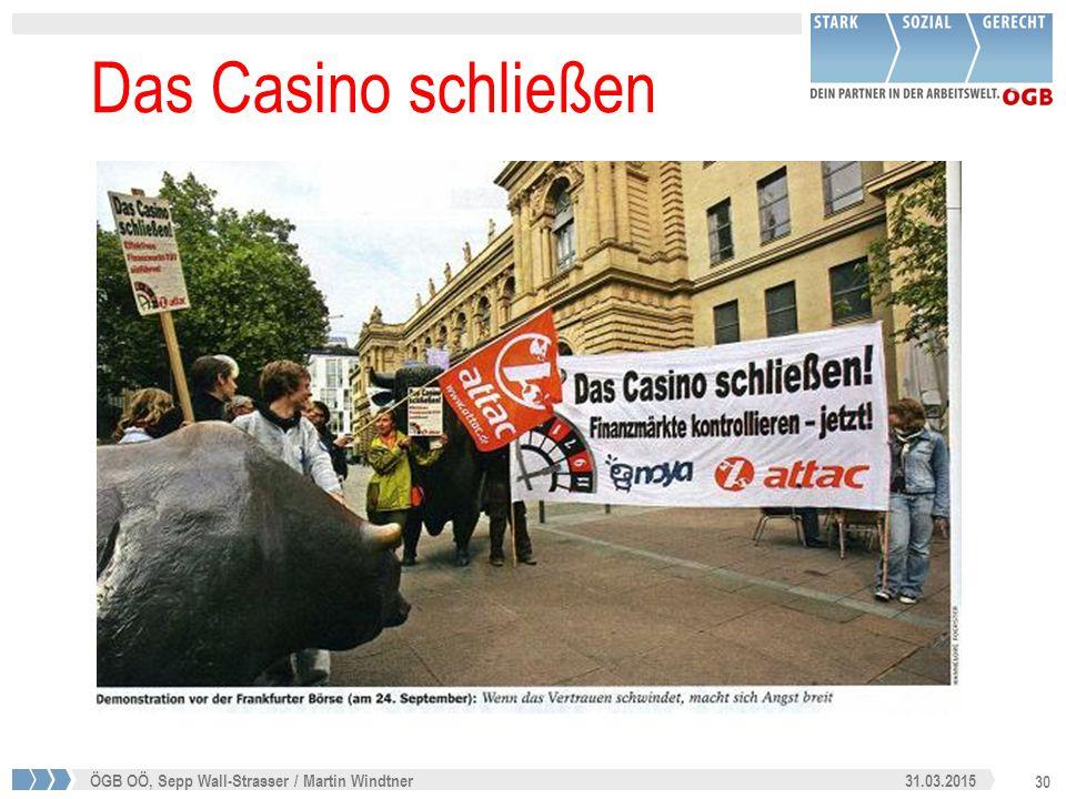 30 31.03.2015ÖGB OÖ, Sepp Wall-Strasser / Martin Windtner Das Casino schließen