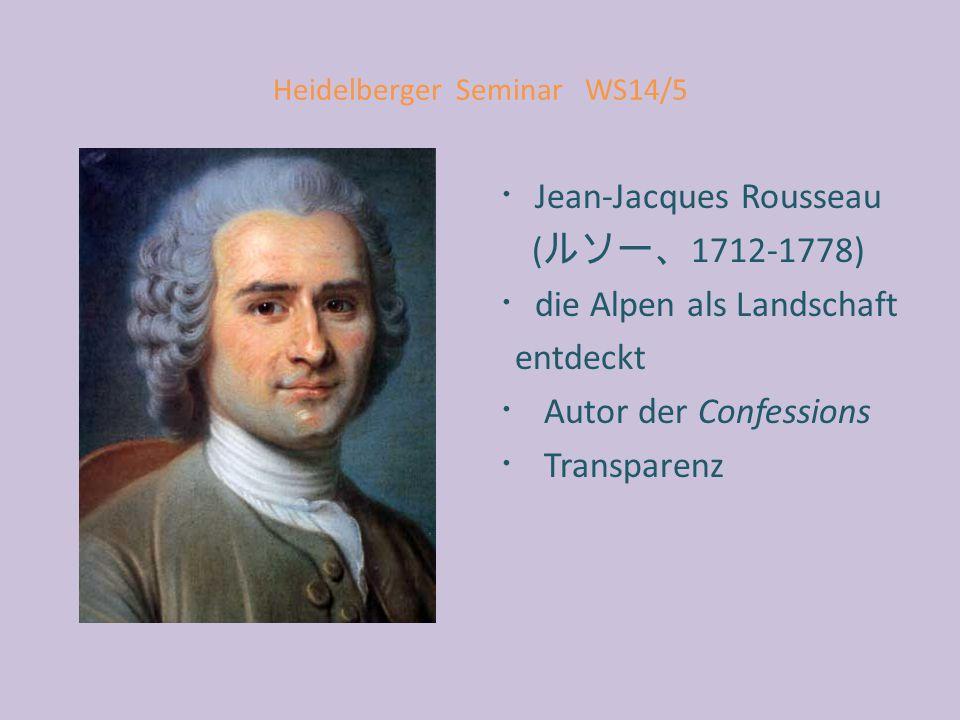 Heidelberger Seminar WS14/5 Ein Interpret schreibt: [...] Subjekt und Sprache hören auf, einander äußerlich zu sein.