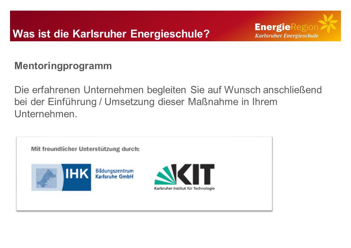 Was ist die Karlsruher Energieschule.