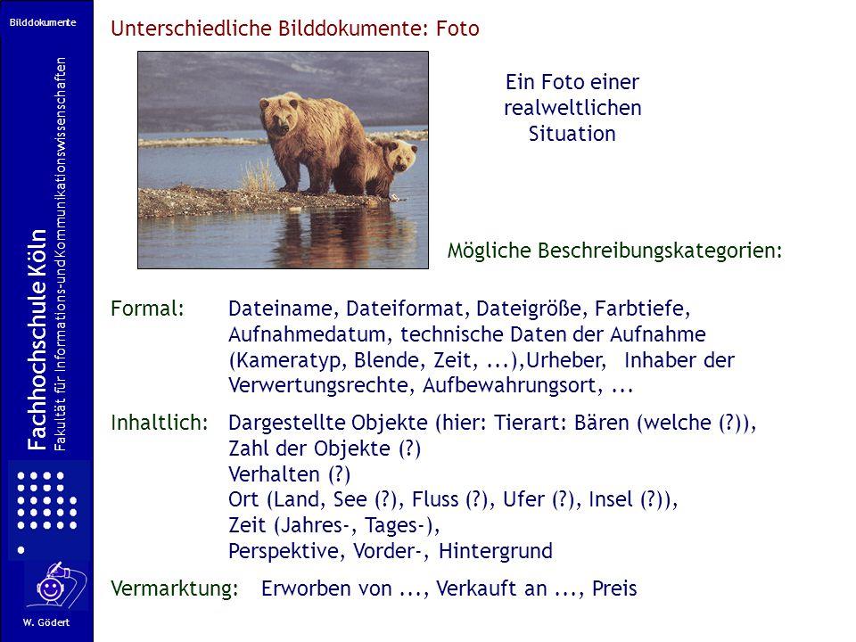 Fachhochschule Köln Fakultät für Informations-und Kommunikationswissenschaften W.