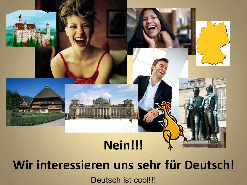 Ist Deutsch euch egal