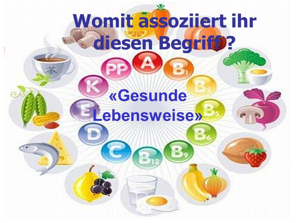 Gesunde Lebensweise Sport richtige Ernährung SchlafErholungBewegung gutes Frühstück richtige Verteilung der Tageszeit Obst und Gemüse Morgen gymnastik