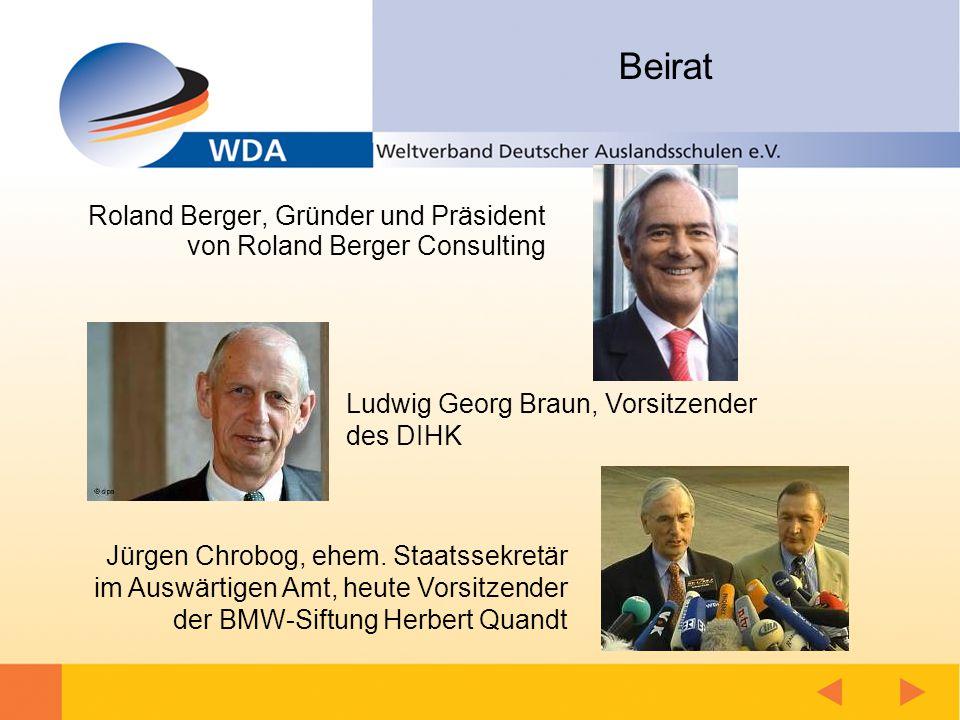 Beirat Roland Berger, Gründer und Präsident von Roland Berger Consulting Jürgen Chrobog, ehem.