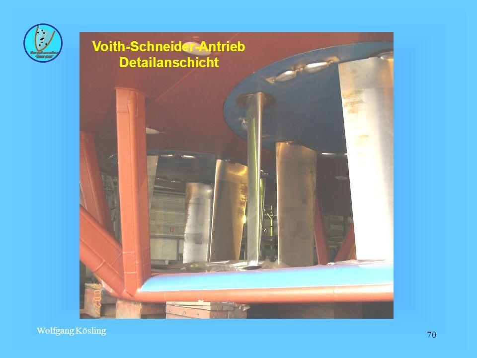 Wolfgang Kösling 70 Voith-Schneider-Antrieb Detailanschicht
