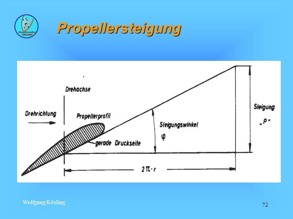 Wolfgang Kösling 72 Propellersteigung
