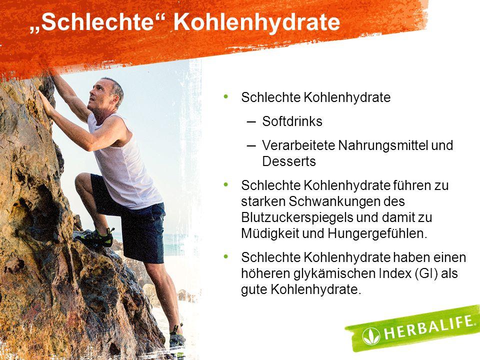 """""""Schlechte"""" Kohlenhydrate Schlechte Kohlenhydrate – Softdrinks – Verarbeitete Nahrungsmittel und Desserts Schlechte Kohlenhydrate führen zu starken Sc"""