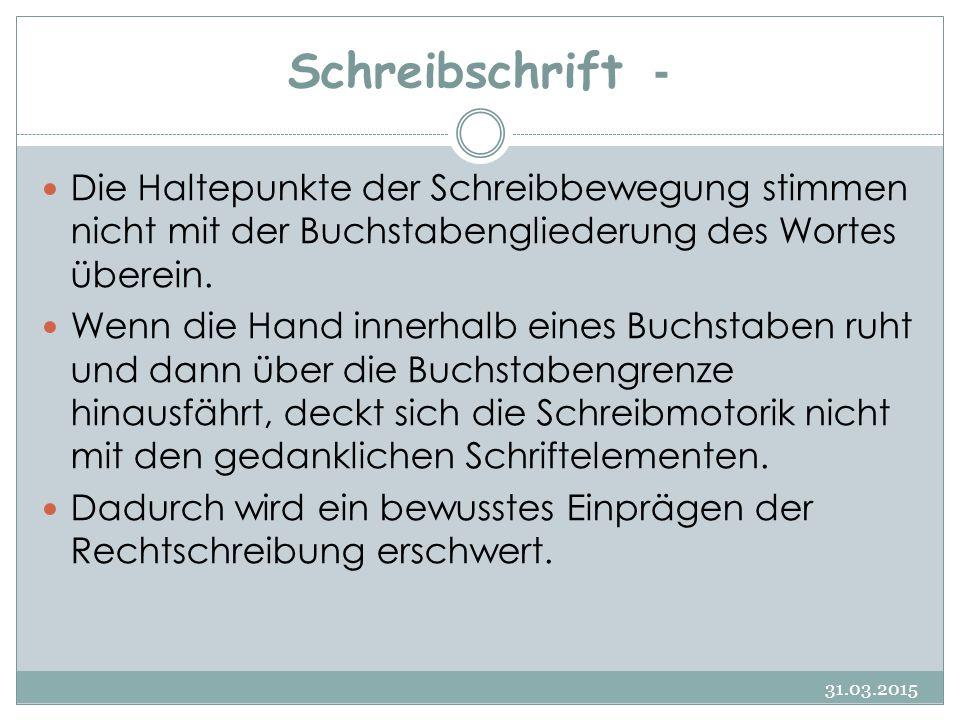 Pfötchengriff - Richtige Stifthaltung 31.03.2015 122