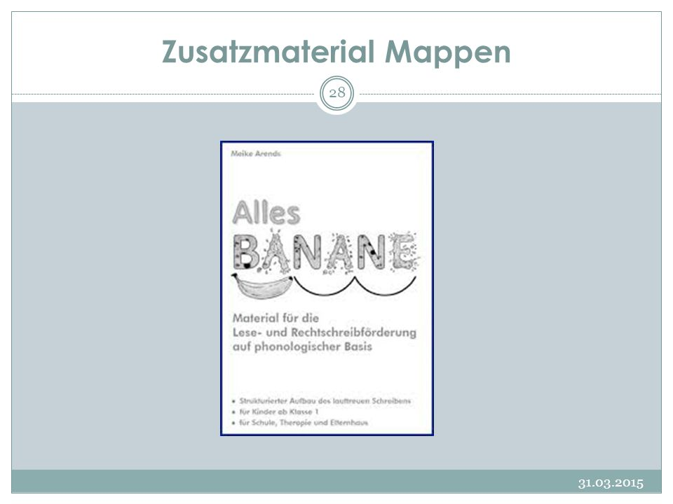 4-Säulen-Modell nach Brügelmann 31.03.2015 29