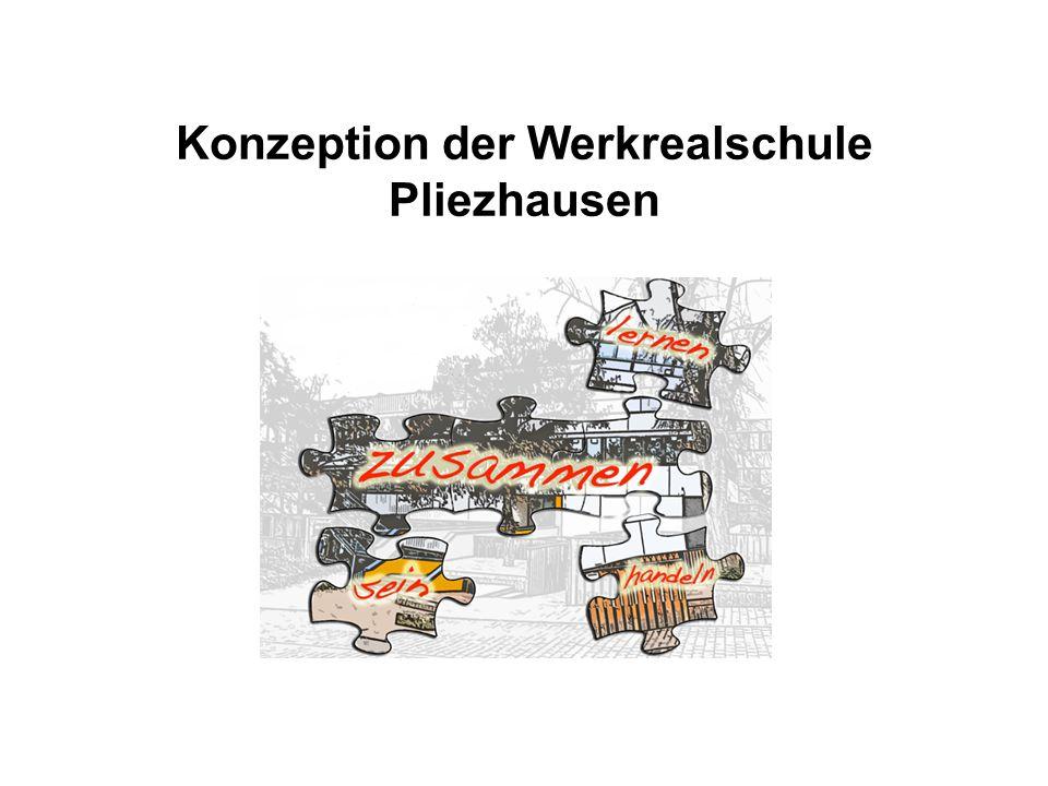 Konzeption der Werkrealschule Pliezhausen