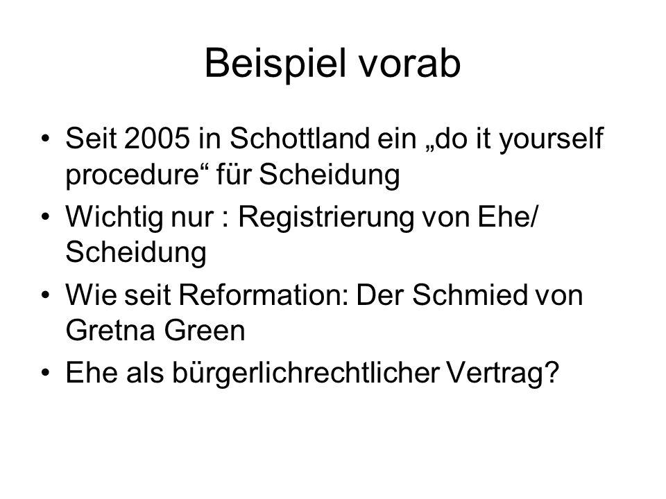 I.Unauflösbarkeit 1. Antike a. Bibel b. Römisches Recht c.