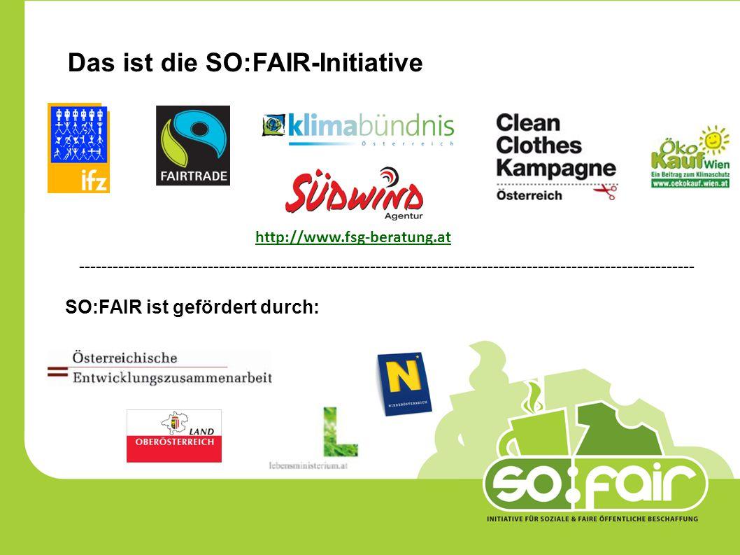 Die Ökoregion Kaindorf bewirbt und verkauft FAIRTRADE-Biobaumwolltaschen.