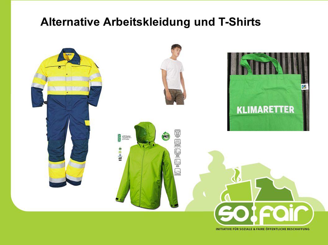Die Stadt Traun kauft Bekleidung für Mitarbeiterinnen und Mitarbeiter im Rathaus, in Kindergärten und Schülerhorte, Schulen und für die Feuerwehr.