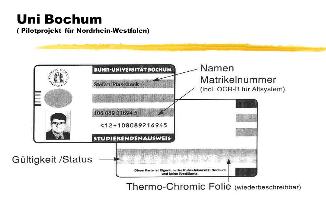 Uni Bochum ( Pilotprojekt für Nordrhein-Westfalen)