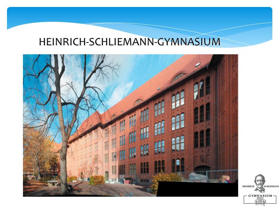 HEINRICH-SCHLIEMANN-GYMNASIUM HEINRICH-SCHLIEMANN-GYMNASIUM