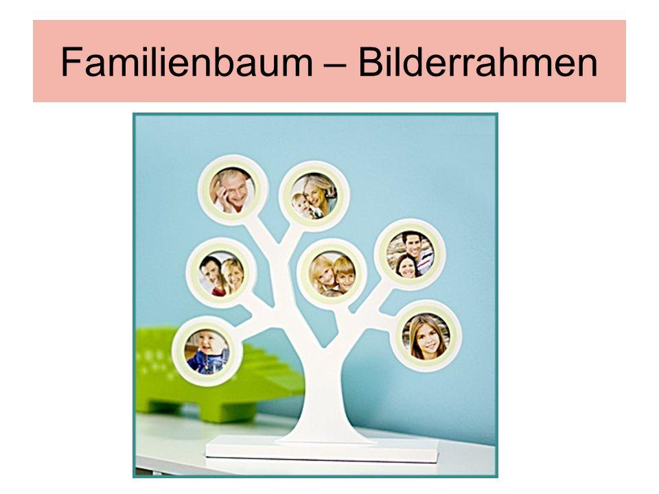 Familienbaum – Bilderrahmen