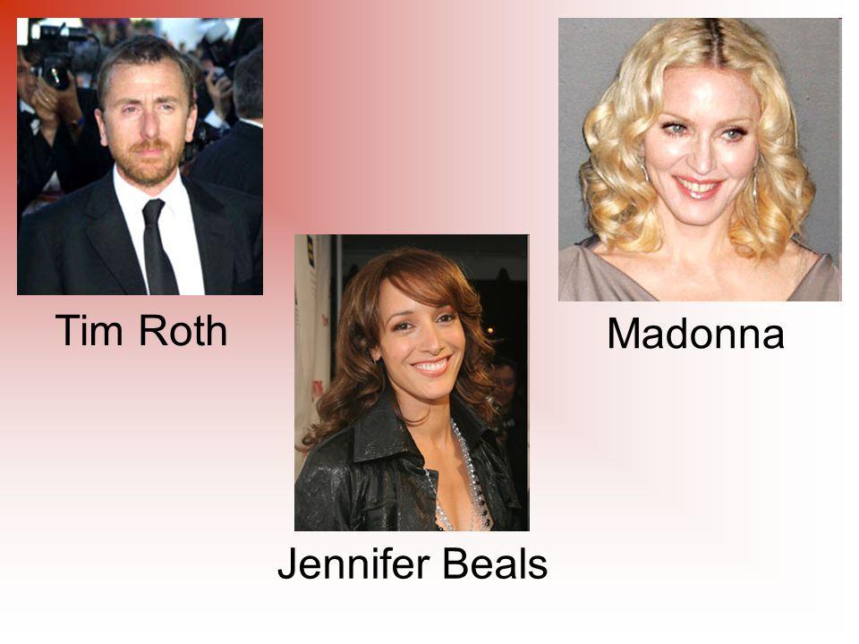 Tim Roth Madonna Jennifer Beals