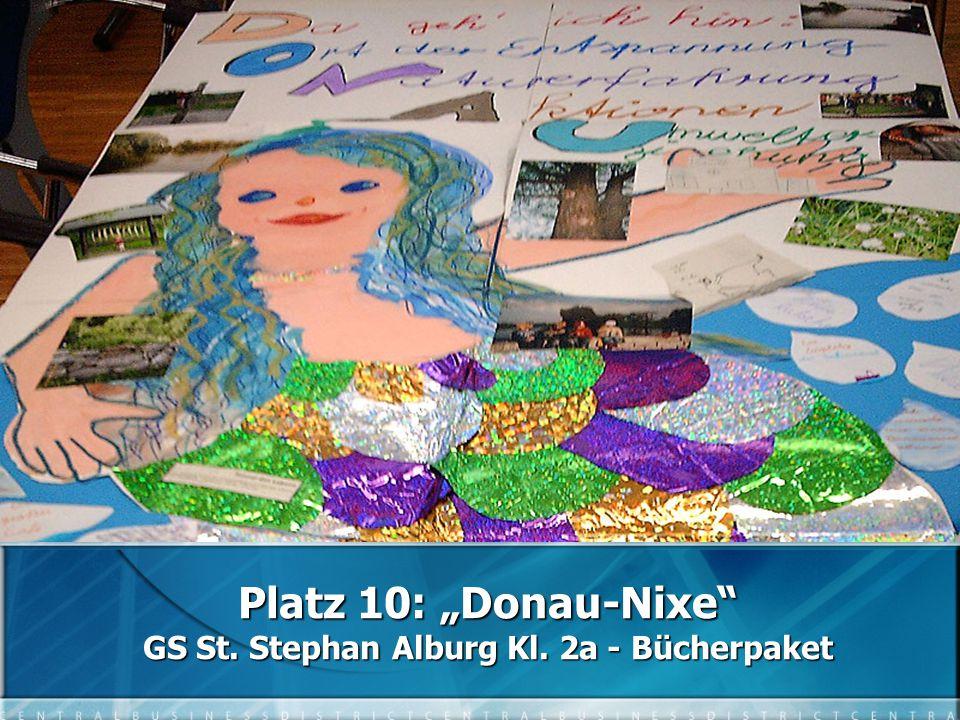 "Platz 10: ""Donau-Nixe GS St. Stephan Alburg Kl. 2a - Bücherpaket"