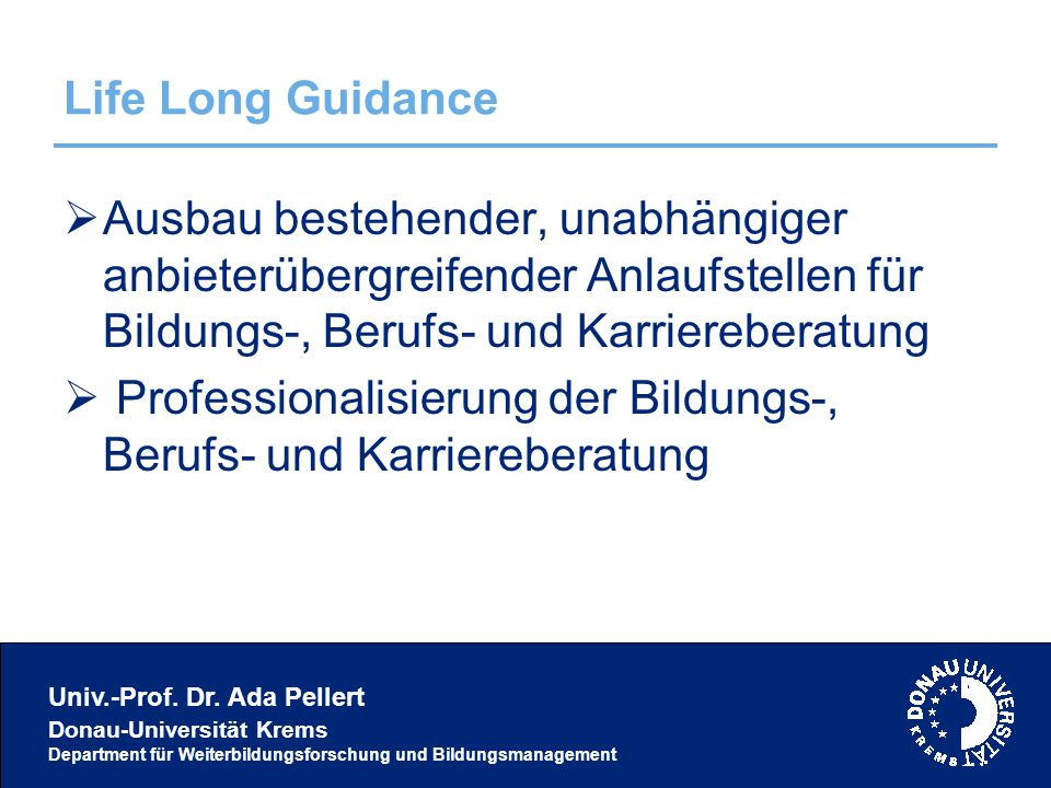 Univ.-Prof. Dr.