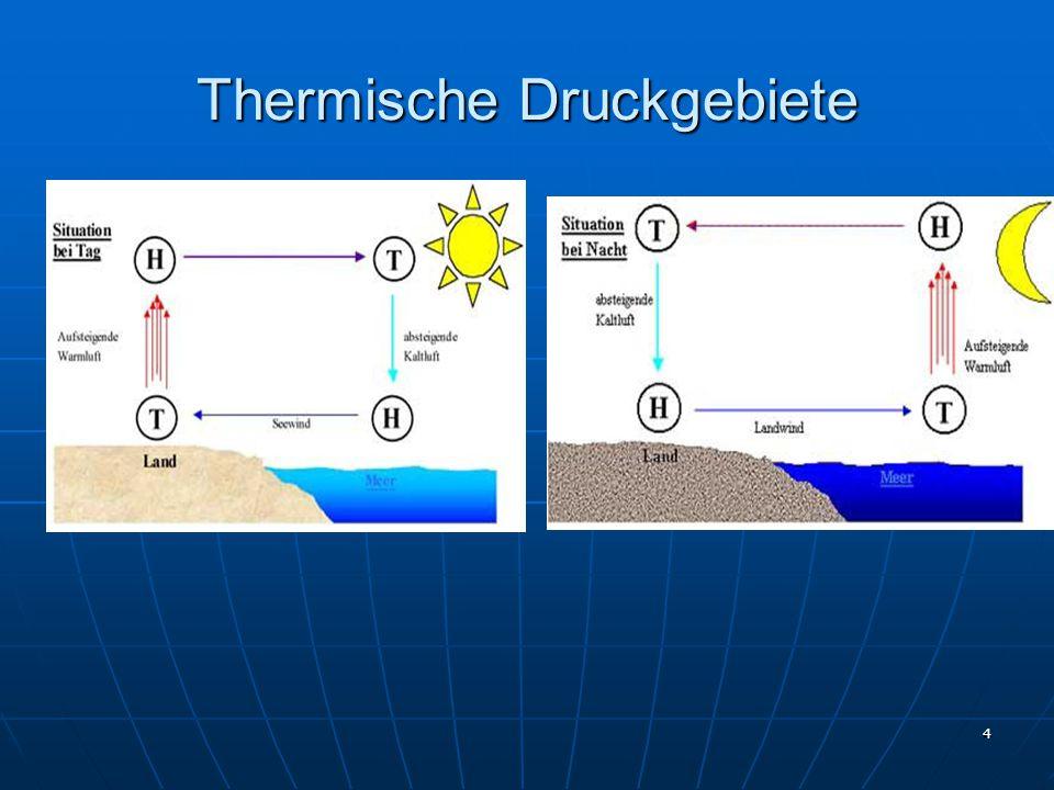 4 Thermische Druckgebiete